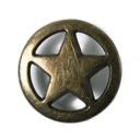 Metallknopf Stern 3