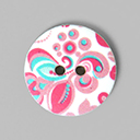 Kunststoffknopf - Flowerpower 2 | Tante Ema