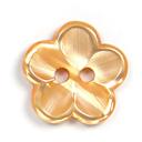 Kunststoffknopf, Brilliant Flower 42