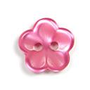 Botón de material sintético, Brilliant Flower 52
