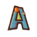Buchstaben - Applikation, A