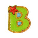 Buchstaben - Applikation, B