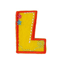 Buchstaben - Applikation, L