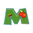 Buchstaben - Applikation, M