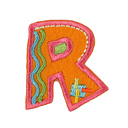 Buchstaben - Applikation, R