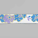 Satin Ribbon with Flowers 2