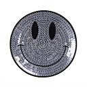 Applikation – Pailletten Smiley 1