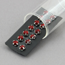 Aufnähkristalle 5mm, 4