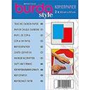 Burda Kopierpapier blau und rot