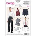 Weste / Accessoires, Burda 3403