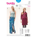 Kleid, Burda 6707