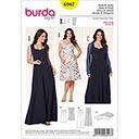 Kleid / Bolero, Burda 6947