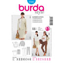 Umstandsmode Business Look, Burda 7105