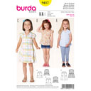 Bluse / Kleid, Burda 9417