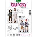 Trachtenlederhose für Jungen, Burda 9508