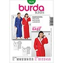 Bademantel, Burda 9620