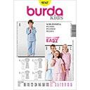 Kinderschlafanzug, Burda 9747