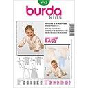 Baby Overall / Schlafsack, Burda 9782