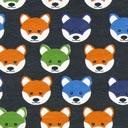 Jersey Fox Head 4