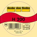 H 200 Plakbare Tussenvoering – Vlieseline | 2 - Polyester - zwart