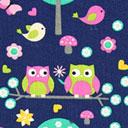 Cotón Búho y pájaro 3