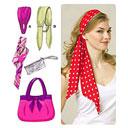Haarband & Geldtasche& Schal& Tasche, KwikSew 3526