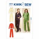 Sport-Jacke / Hose, KwikSew 3678