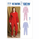 Schlaf-Overall, KwikSew 3712