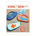Bolso flip flop, KwikSew 4166