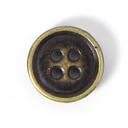 Metallknopf Used Look