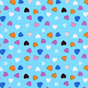 Cotton Spring Hearts 1