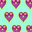 Singlejersey Herzen