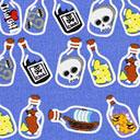 Cotton Botella con mensaje 2