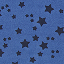 Georgette Coloured Stars 1