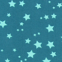 Georgette Coloured Stars 3
