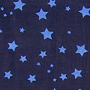 Georgette Coloured Stars 6