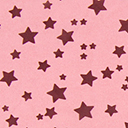 Georgette Coloured Stars 7