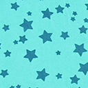 Georgette Coloured Stars 8