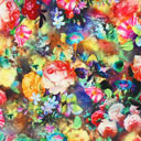 Tela para blusas Floristas 1