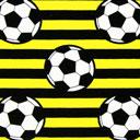 Tela single Jersey Fútbol - amarillo