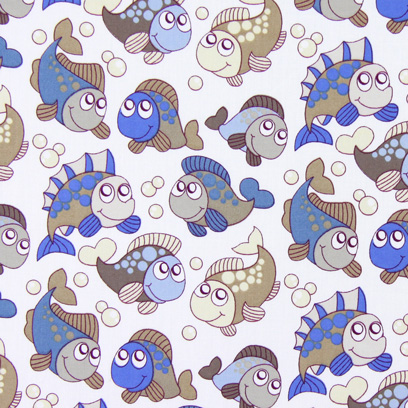 Cotton Happy Fish 1