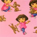 Voile Seikkailija Dora - Polyesteri - roosa