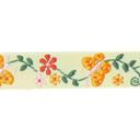 Webband Schmetterling + Blumen 1
