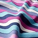 c537dcf6 Bomuldsjersey Stripes – blå/lilla - Jerseystoffer- stofkiosken.dk