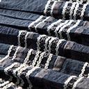Kjoler & Nederdels panel Striber – marineblå