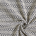 Malha Jacquard Losangos – branco sujopreto
