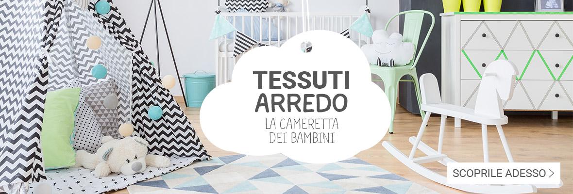 Tessuti per bambini grande assortimento prezzi - Tessuti al metro ikea ...