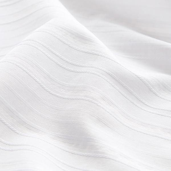 100 cm breit als Meterware f/ür Kleidung u Deko Baumwoll-Stoff leicht rein Wei/ß