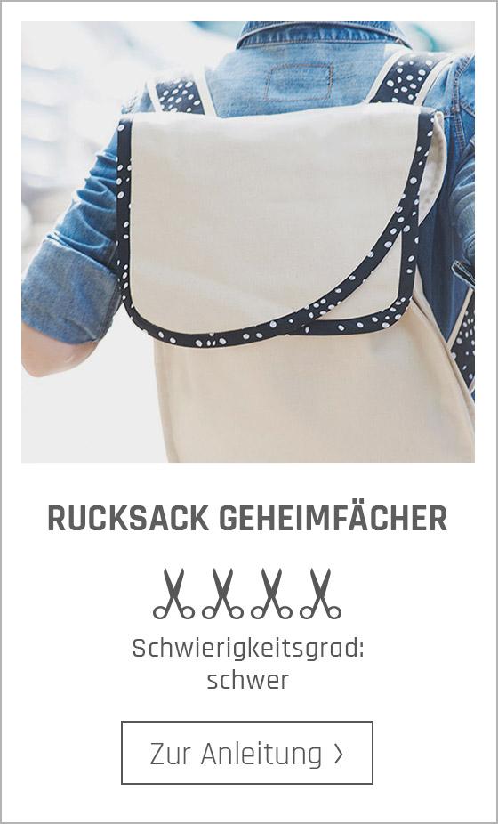 Kostenlose Nähanleitungen für Rucksäcke bei stoffe.de.