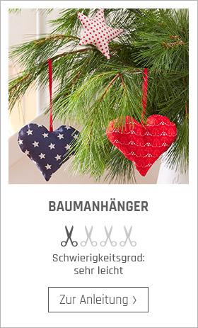 Kostenlose Nähanleitungen zur Weihnachtszeit von stoffe.de